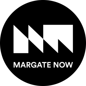 Margate Now badge bw